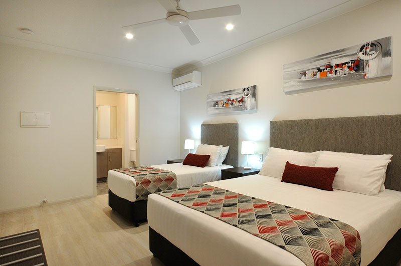 All rooms offer free Wi-FI Internet, Foxtel, parking and access to a guest laundry.
